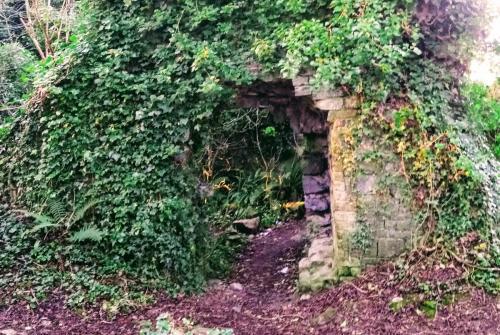 Abandoned ruins near UL
